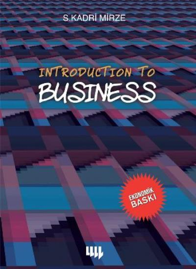 Introduction to Business Siyah Beyaz Ekonomik Baskı